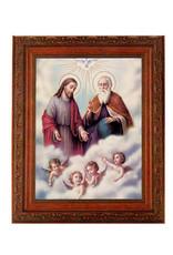 "10"" X 12"" The Trinity In Ornate Wood Frame"