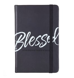 Christian Art and Gifts Notebook Lux-Leather Blessed
