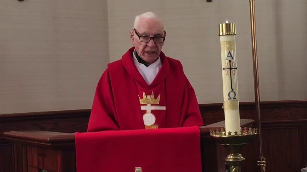 Fr. Bernard Ahern died on July 31st. 2020 at the age of 93