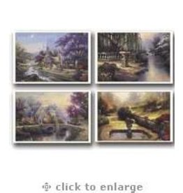Day Spring Card-Boxed-Thank You-Thomas Kinkade (Box Of 12)