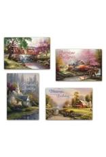 Day Spring Card-Boxed-Birthday-Thomas Kinkade (Box Of 12)