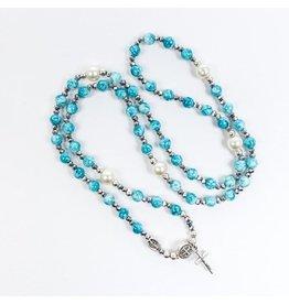 My Saint My Hero Miraculous Rosary Wrap Bracelet