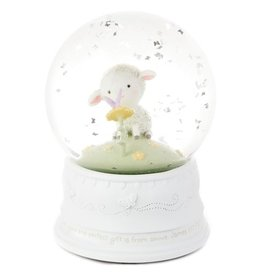 Hallmark Little Lamb Musical Snow Globe