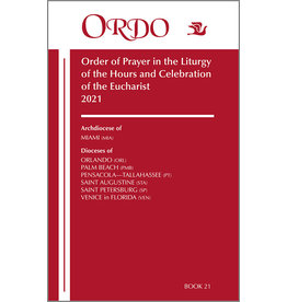Paulist Press 2021 Ordo Book 21: Order of Prayer in the Liturgy Of The Hours And Celebration Of The Eucharist for the Ecclesiastical Province of Miami