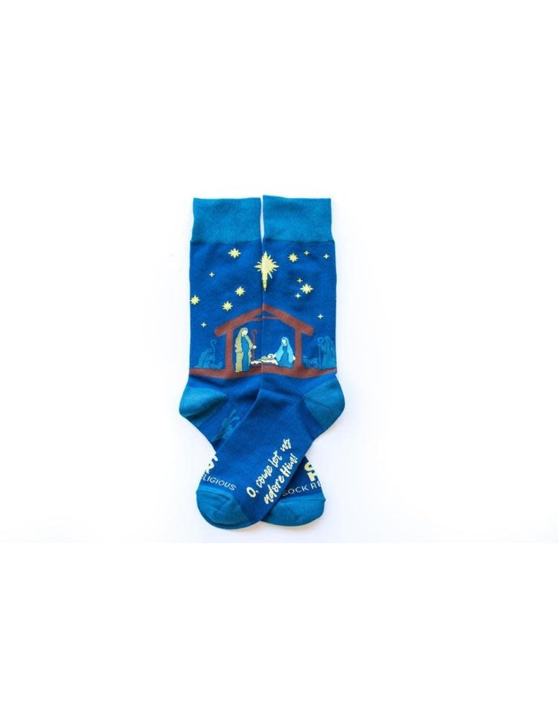 Sock Religious Sock Religious Nativity  Socks