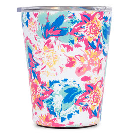 Mary Square Stainless Coffee Tumbler Peony Sorbet