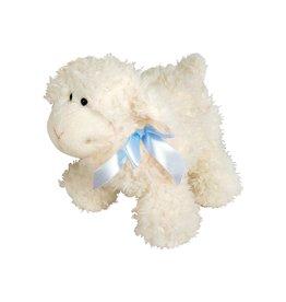 Stephan Baby Stephan Baby Ultra Soft Sherpa Plush Dimple Lamb, Cream