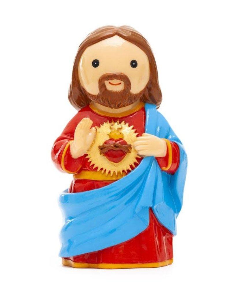 Little Drops of Water Little Drops of Water: Sacred Heart of Jesus Statue