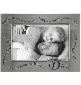 Malden International Designs A Father Is A True Hero Dad Picture Frame