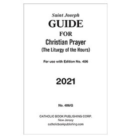 Catholic Book Publishing Corp 2021 Saint Joseph Guide for Liturgy of the Hours Large Print