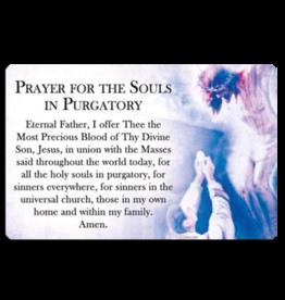 Catholic ID Prayer for the Souls in Purgatory