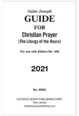 Catholic Book Publishing Corp 2021 Saint Joseph Guide for Christian Prayer/Liturgy of the Hours (For The Single Volume)