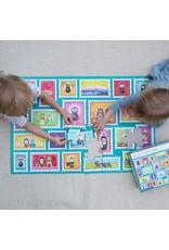 "Shining Light Dolls Saint Stamps Giant Floor Puzzle 24"" x 36"""