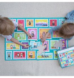 "Shining Light Dolls Saint Stamps Giant Floor Puzzle 24"" x 36"""