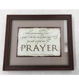 Abbey Press Until You Are Convinced that Prayer Frame