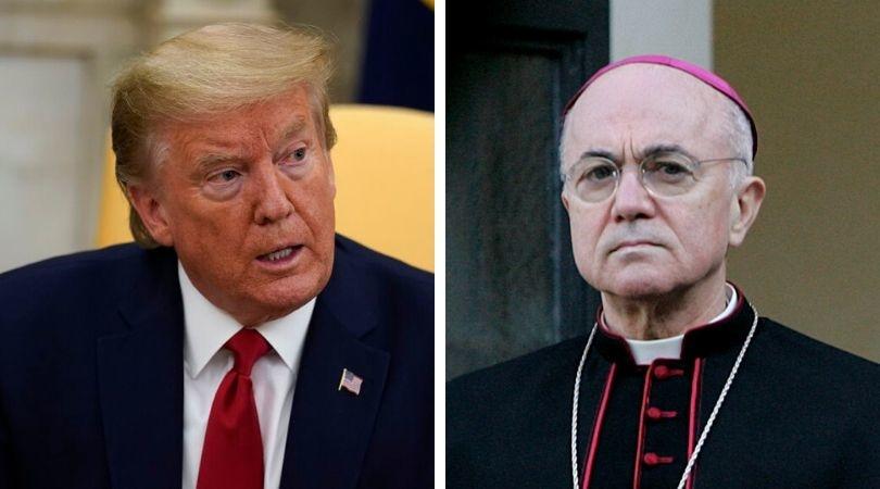 Archbishop  Viganò - Letter #1 to President Donald Trump