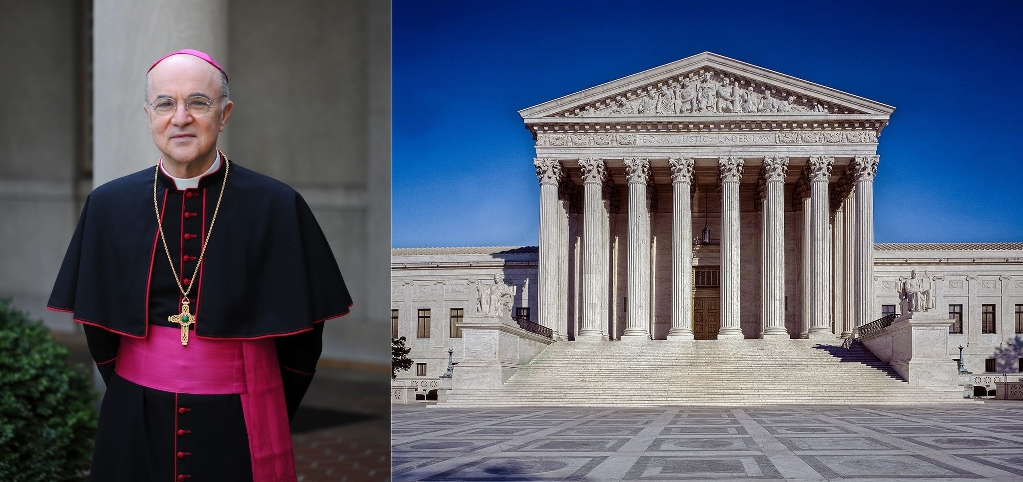 Archbishop Viganò - Letter to US Supreme Court (Read at DC March)