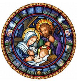 Vermont Christmas Company Holy Family Jumbo Advent Calendar
