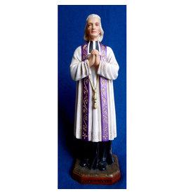 "Fiat Imports 12"" St. John Vianney Statue"