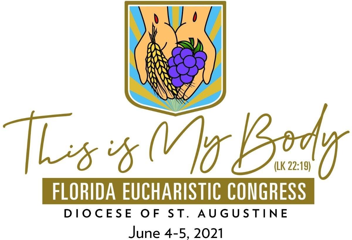 2021 Florida Eucharistic Congress Logo