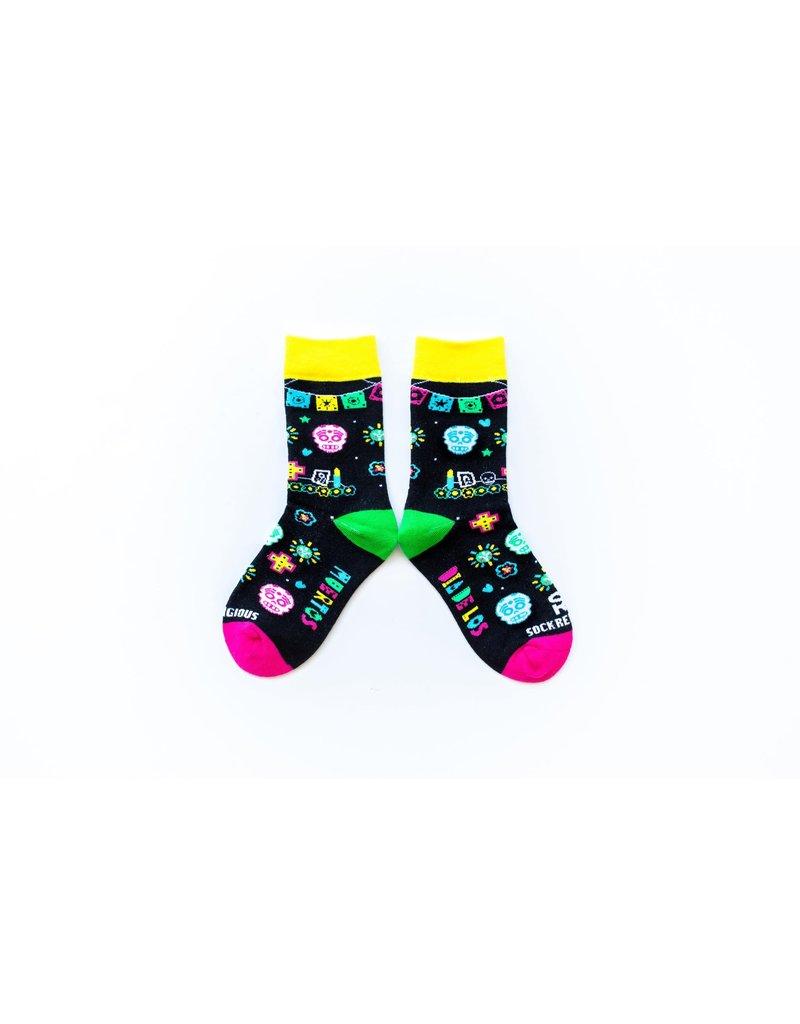 Sock Religious Kids Day of the Dead Socks