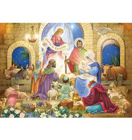 Vermont Christmas Company Box of 15 Glorious Nativity Christmas Cards