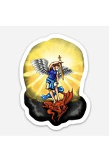 Full of Grace USA St. Michael the Archangel Sticker Decal