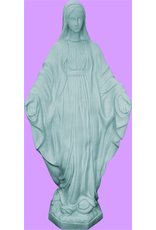 "Space Age Plastics Our Lady of Grace 32"" Granite Statue"