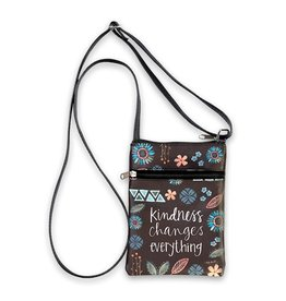 BrownlowGift Crossbody Bag-Kindness Changes Everything (6 X 8)