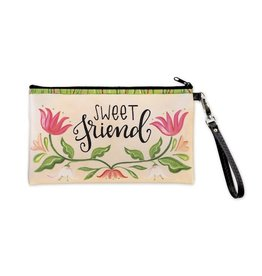 "BrownlowGift Zippered Bag-Sweet Friend (8.5"" x 5"")"