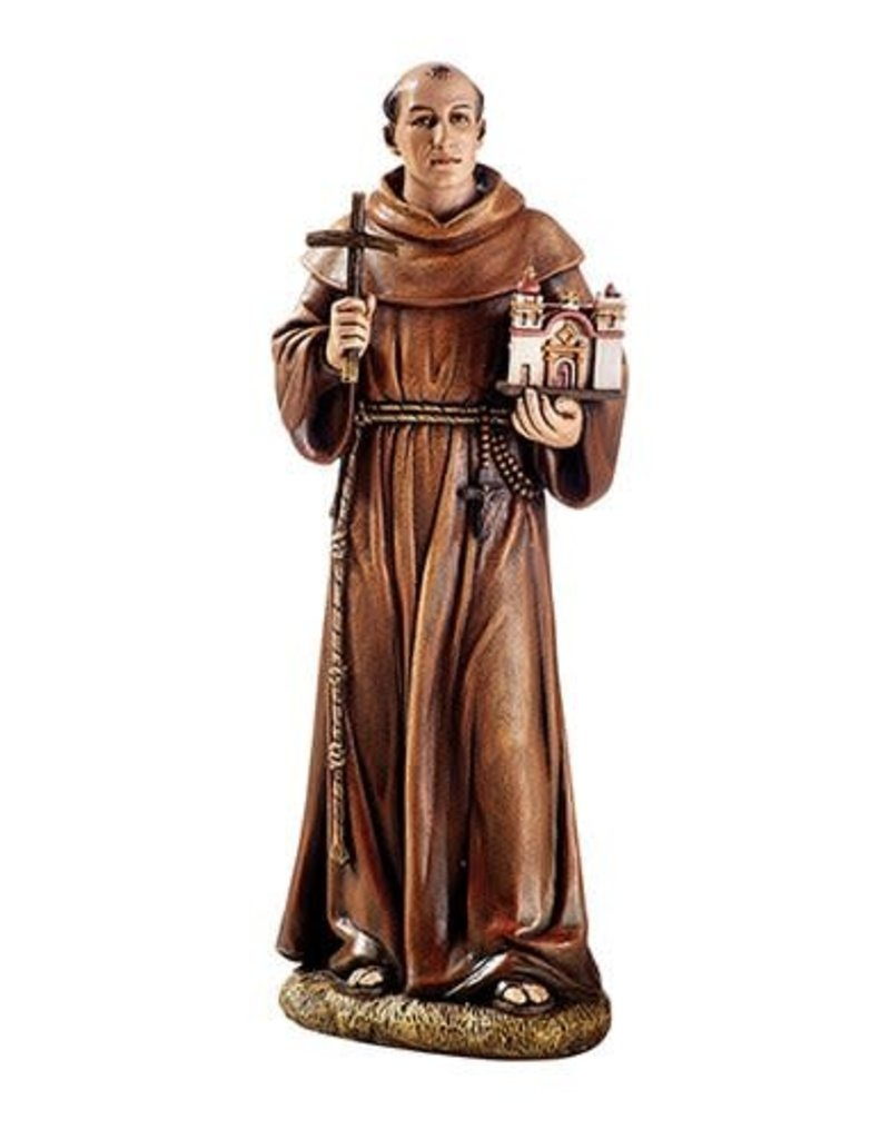 "Avalon Gallery 8"" Toscana Saint Junipero Serra Statue"