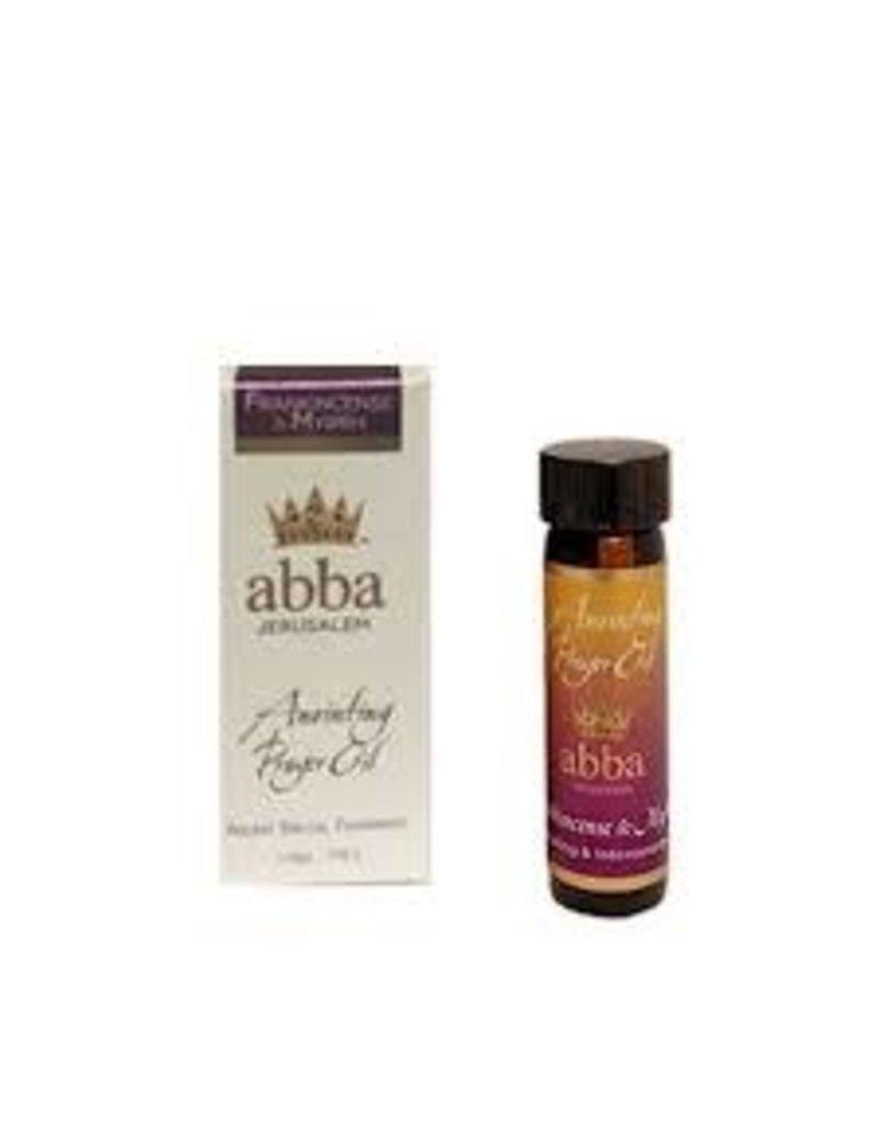 Abba Anointing Oil Anointing Oil-Frankincense & Myrrh-1/4 oz