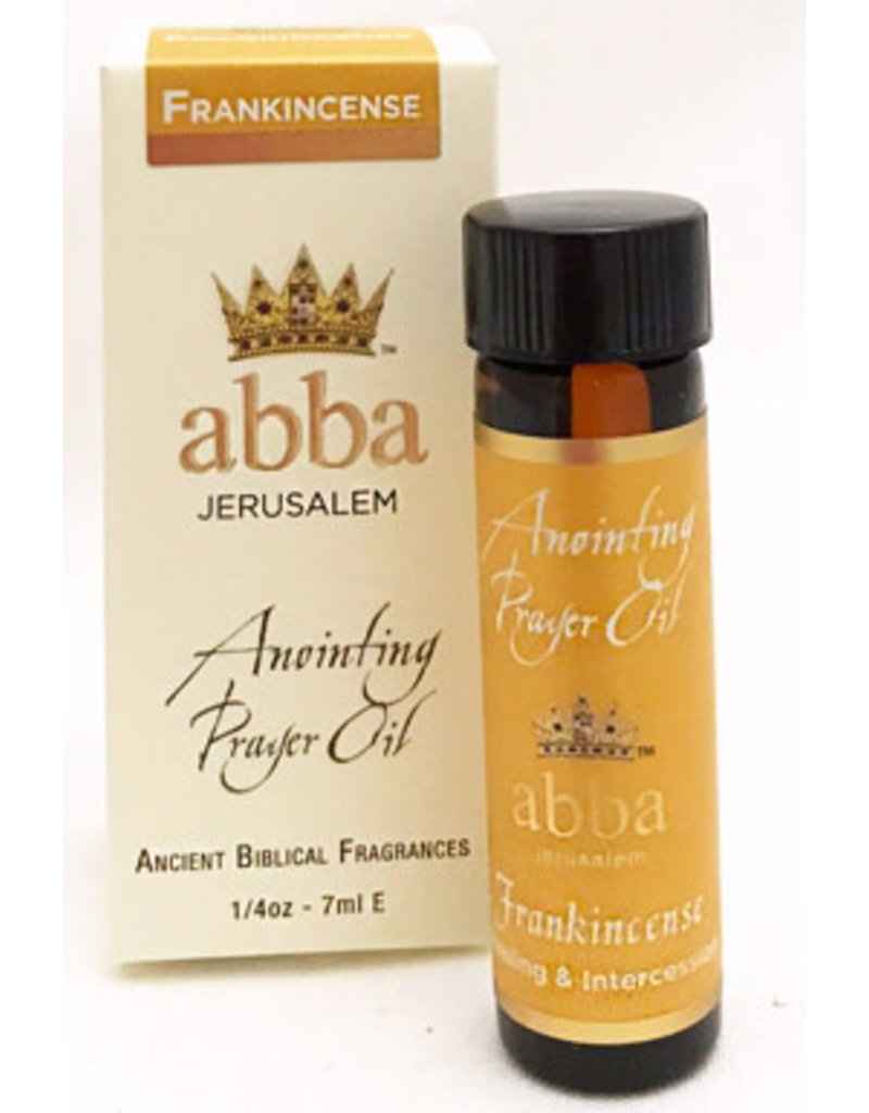 Abba Anointing Oil Anointing Oil-Frankincense-1/4 Oz