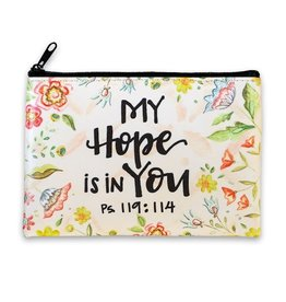 BrownlowGift Coin Purse-My Hope Is In You (6 x 4.25)
