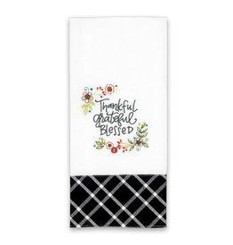 BrownlowGift Tea Towel-Thankful Grateful Blessed (18 x 28)