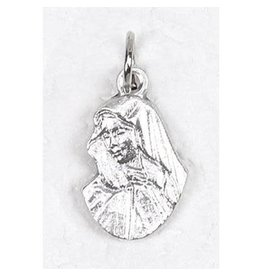 Lumen Mundi Lady of Sorrows Silhouette Medal