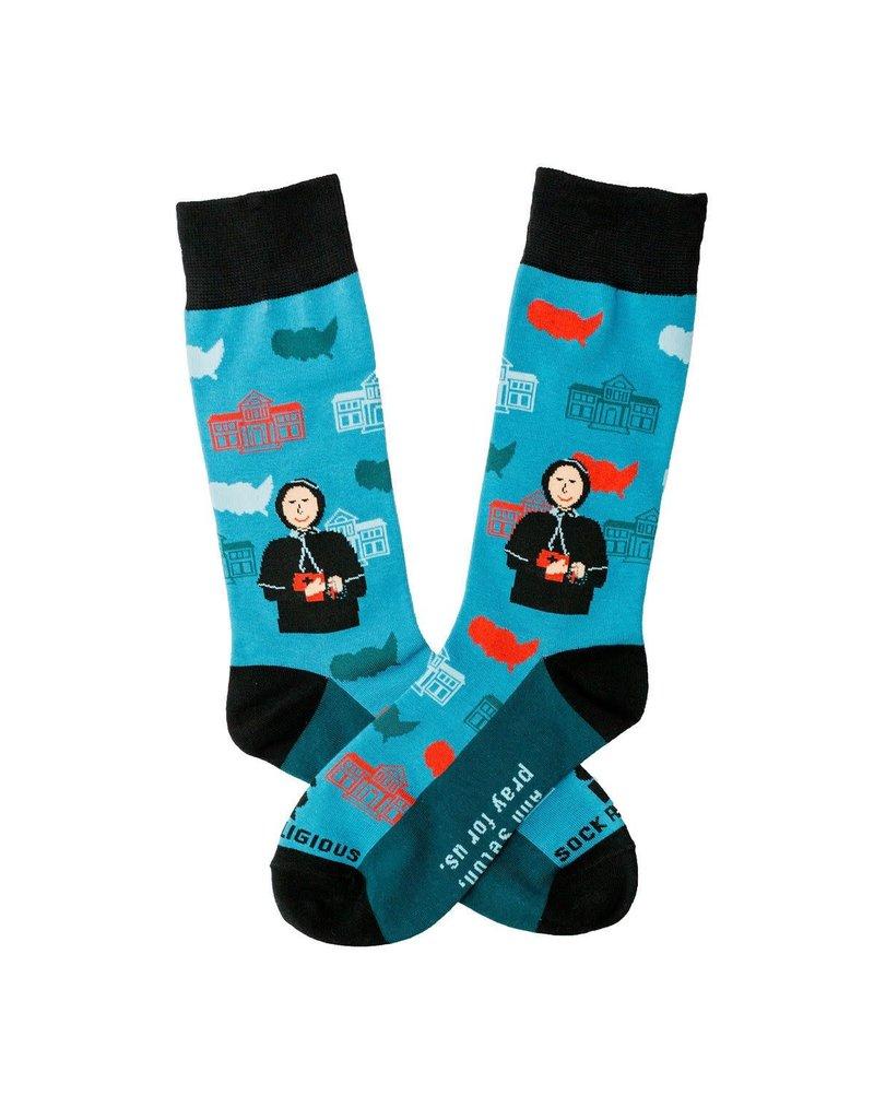 Sock Religious St. Elizabeth Ann Seton Socks