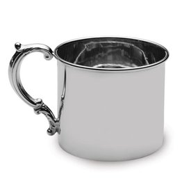 Sterling Silver Hollow Handle Baby Cup