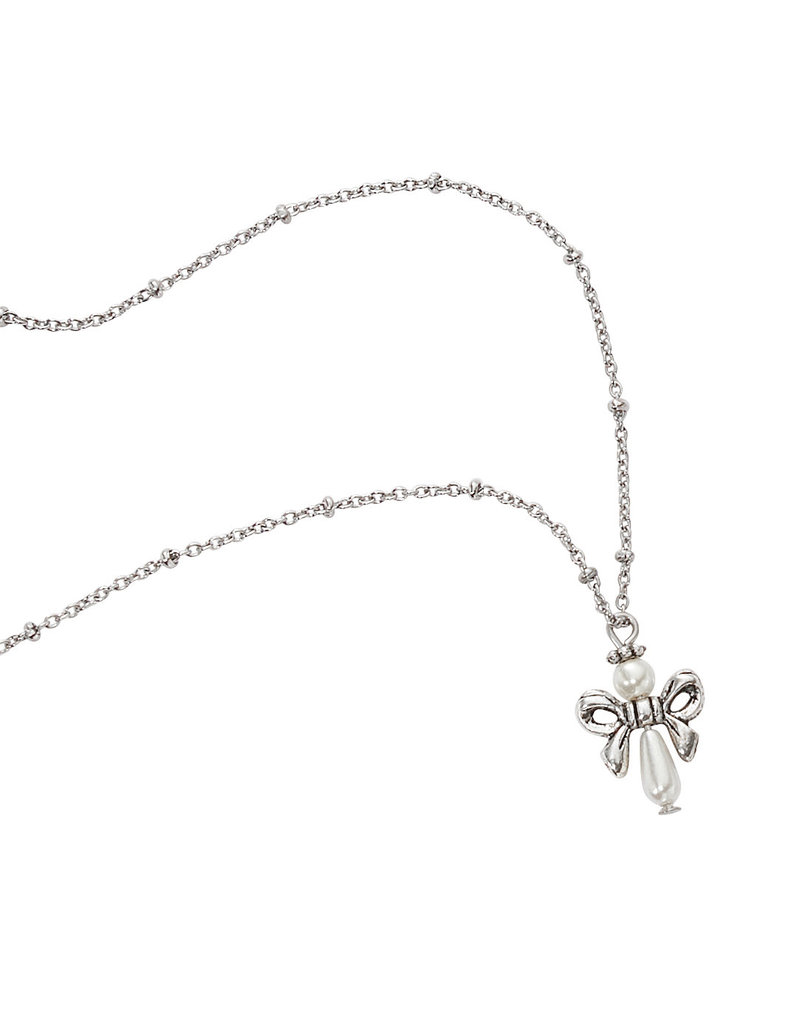 "McVan 16"" Pearl Angel Necklace"