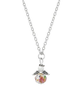 "McVan 16"" Flower Pearl Pendant"