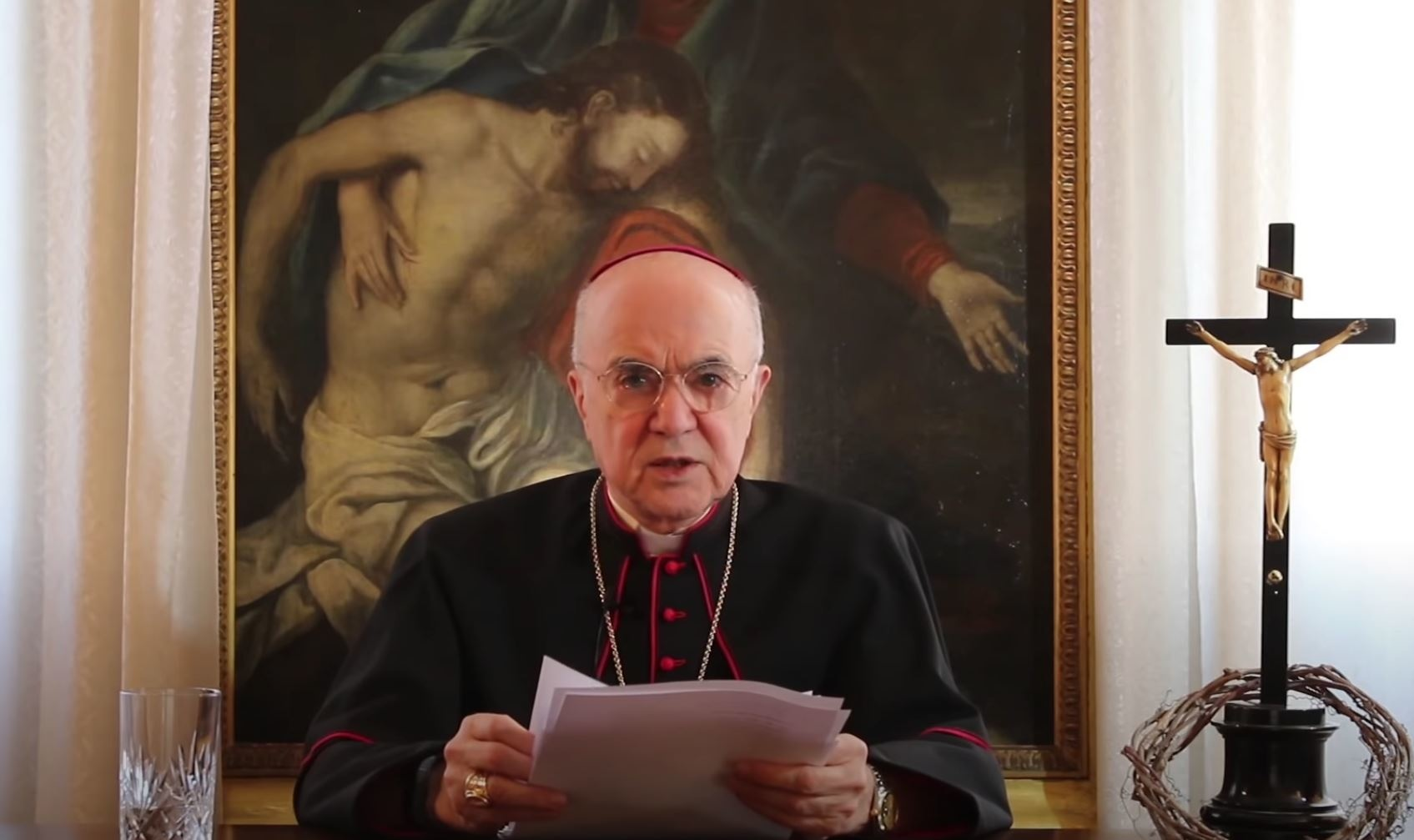 Archbishop Viganò - Open Letter To Confused Priests: Obedience, Resistance, Francis and Vaccines