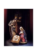 "Avalon Gallery 24"" Val Gardena Holy Family"