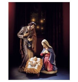 "Avalon Gallery 24"" Val Gardena Holy Family"