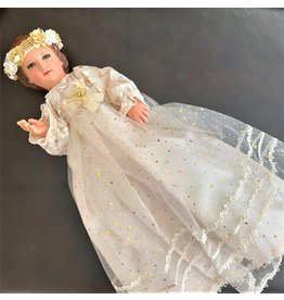 Fiat Imports Holy Infant Mary With Dress 16″