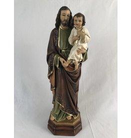 "Fiat Imports 18"" St. Joseph Holding Baby Jesus Statue"