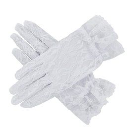 Christian Brands First Communion Lace Gloves