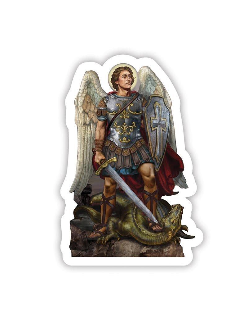Christian Brands Saint Michael Auto Magnet