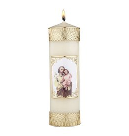 Will & Baumer Devotional Candle - St. Joseph and Child