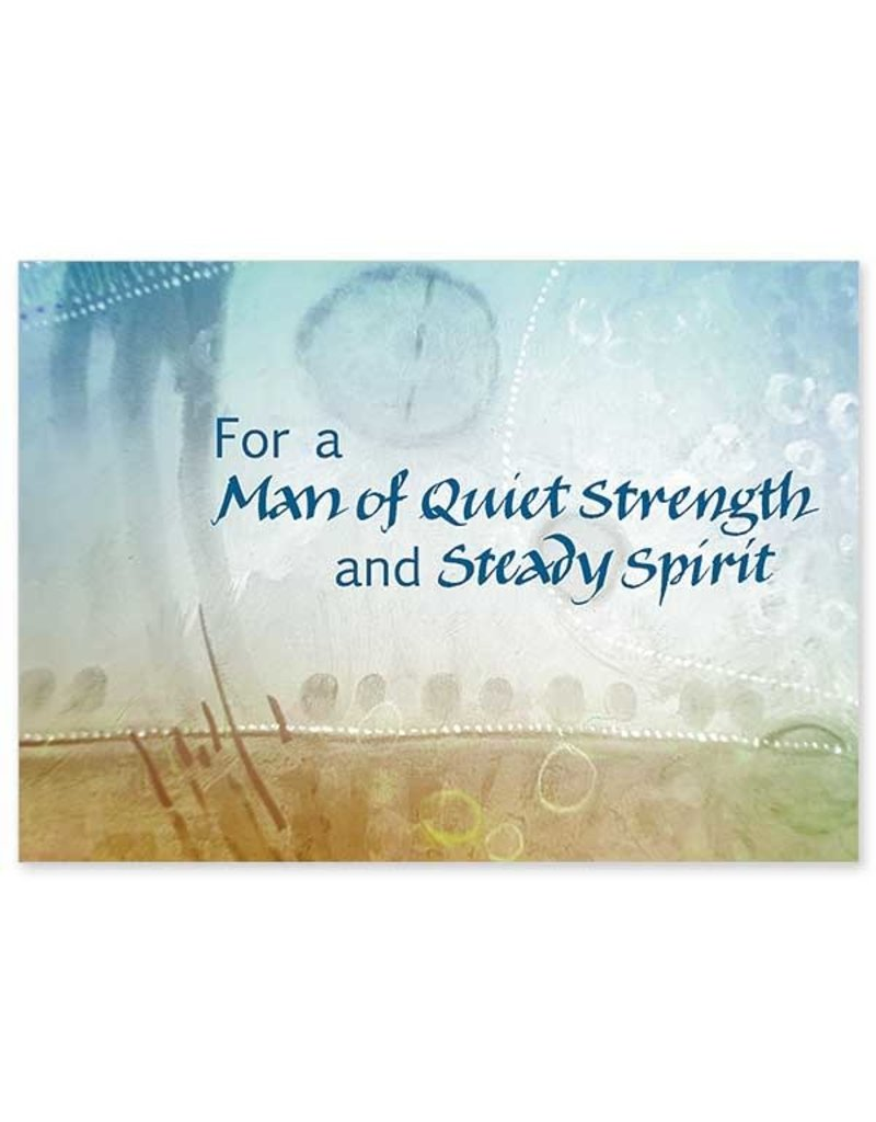 The Printery House For a Man of Quiet Strength and Steady Spirit Birthday Card for Man