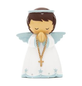 Little Drops of Water Little Drops of Water: My Guardian Angel Statue with Rosary (Boy)